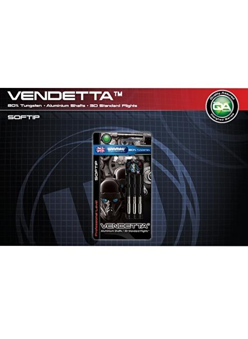 Winmau Vendetta %80 Tungsten Plastik Uçlu Dart-20 Gram Renkli